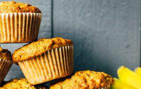 einfache bananen nuss muffins vegane vibes