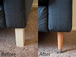 Karlstad Sofa Legs Etsy by The Sofa Saga Part 2 How To Replace Karlstad Legs Living Rooms