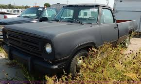 100 1972 Dodge Truck D10 Adventurer Pickup Truck Item J3605 SOLD