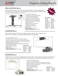 Mitsubishi Projector Lamp Replacement Instructions by Download Free Pdf For Mitsubishi Sd430u Projector Manual