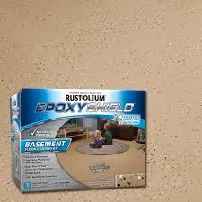 100 Solids Epoxy Garage Floor Paint by Rust Oleum Epoxyshield 90 Oz Clear High Gloss Low Voc Premium