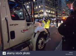 100 United Truck Center New York States 18th Nov 2015 A Police Officer Center