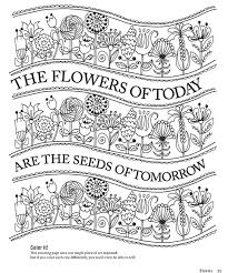 Personalise Your Makes With An Abundance Of Blooms Using These Free Floral Printable Colouring Sheets From Florabunda
