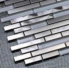 Backsplash Metal Tiles Peel And Stick Metal Tiles For Tiles Home