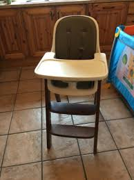 oxo tot sprout high chair taupewalnut for sale in cork city centre