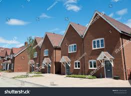 100 Modern Houses Images Residential Street England Stock Photo Edit Now