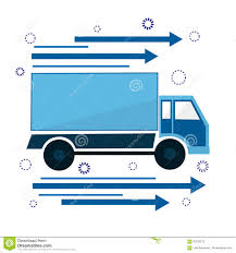 100 Truck Courier Icon The Is Going Sign Of Delivery And Service Stock