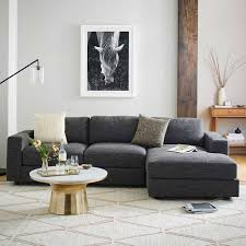 West Elm Rochester Sofa by 1 Living Room 4 Different Ways