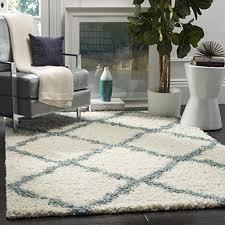 blue rug for living room