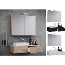 vcm waschplatz waschtisch waschbecken schrank spiegel wc gäste toilette badmöbel klein schmal gudas spiegelschrank