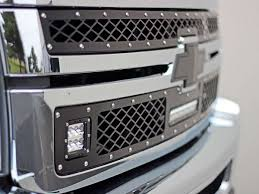2011-2014 Chevrolet 2500 / 3500 LED Grille Kit Black...   Rigid ... Chevy Truck Grilles By Year Status Grill Custom Accsories Tinted Lens Led Light Bar Behind And Gmc Duramax Trex 2014 Silverado 1500 Available Now Stillen Garage 1979 Front For Sale 4027 Flickr 0713 Evolution Stainless Steel Wire Mesh Wt Seal Beam Headlights To Lamp Cversion Wiring Replacement Grille 42015 Sierra Pickup 70188 2500 Hd 3500 62018 2pc Polished By Unique Z71 Black Rigid Industries Bumper Insert 52018 Bowtie