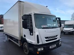 100 Used Box Trucks For Sale By Owner Iveco EUROCARGO 75E16S AUTO BOX Van For Sale In Salford
