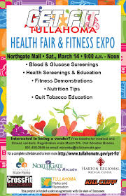 Tullahoma Is Pleased To Announce That We Are Planning For The Fourth Community Health Fair And Fitness Expo Saturday March 14