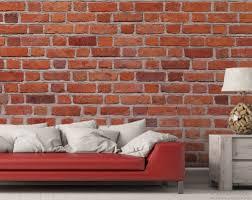 vliestapete rote ziegelsteinwand backsteine 400 x 267 cm