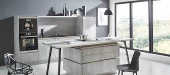 design küche in spachtelbeton perlgrau küche smart kitchen 2 0