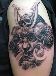 Effects Of Using Samurai Tattoo Design Helmet