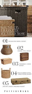 Round Up: 5 Baskets We Can't Live Without - Pottery Barn Potterybarn Lexine Round Lidded Basket By Erkin_aliyev 3docean Pottery Barn Barrel Baskets Decorative Storage Barn Australia Nursery Organization And Project Hop To It Easter Goodies Lovely Lucky Life Savannah Utility Au Diy High End Decor Wwwbuildmyartcom Top 10 Wedding Gifts Gift Giving Ideas Pinterest Kitchen Rugs Wire Two Tier Fruit In Bronze Basketball Summer Camp Umag Croatia 2017 Solsemestracom Inspired Tulle Tutu Diy Tutorial Kids Youtube