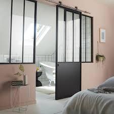 separation salle de bain où trouver une porte coulissante atelier style verrière salons