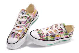 converse all plaid canada converse all plaid low colorful