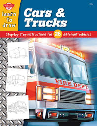 Cars & Trucks: Step-by-step Instructions For 28 Different Vehicles ... How To Draw The Atv With A Pencil Step By Pick Up Truck Drawing Car Reviews 2018 Page Shows To Learn Step By Draw A Toy Tipper 2 Mack 3d Pickup 1 Cakepins Truck Youtube Cars Trucks Sbystep Itructions For 28 Different Vehicles Simple Dump Printable Drawing Sheet Diesel Drawings Best Of Monster An F150 Ford