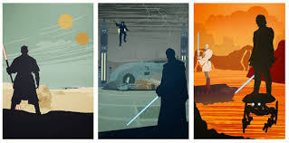 Limited Edition Star Wars Prequel Trilogy Poster Set