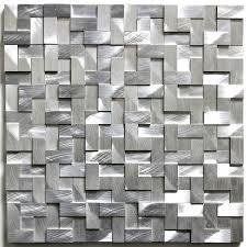 mosaique cuisine pas cher mosaique en aluminium et carrelage pas cher et en stock
