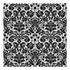 Black And White Flower Shower Curtain by White Damask Shower Curtain Foter