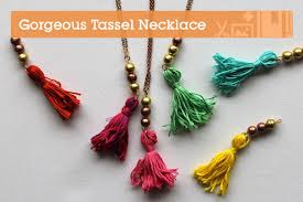 Make A Gorgeous Tassel Necklace