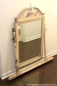 Waterfall Vanity Dresser Set by Vintage Vanity Dresser With Mirror Antique Vanity Dresser With