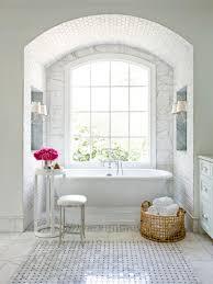 Tiling A Bathroom Floor Around A Toilet by 15 Simply Chic Bathroom Tile Design Ideas Hgtv