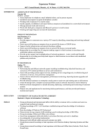 It Technician Resume Samples Velvet Jobs Rh Velvetjobs Com Support Cv Sample Pdf