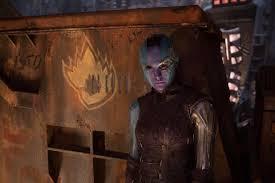 Guardians Of The Galaxy Vol 2 Hi Res Screenshots Karen Gillan Nebula Spin Off
