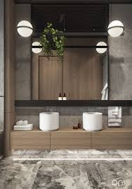 our visualization for oni architects onirender bathroom