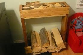 indoor firewood rack