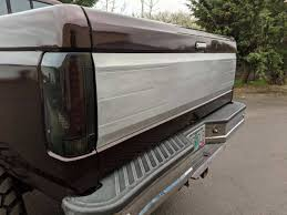 100 Truck Tailgate Steps 8797 Ford FSeries And Bronco Aluminum Panel OBS Solutions