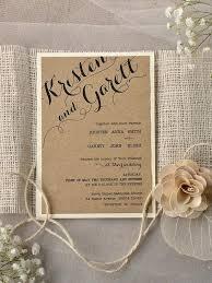Rustic Elegance Wedding Invitations Invites Chic Uk