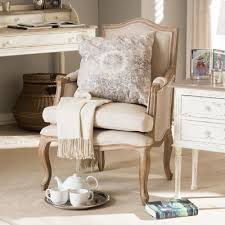 French Script Chair Canada by Home Decorators Collection Zoey Dark Beige Linen Arm Chair With