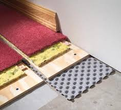 types of flooring for concrete basement floor