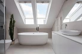 badezimmer im dachgeschoss als kleine oase wohnideen
