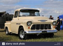 100 Stepside Trucks 1955 Chevy Pickup Truck Stock Photo 26654081 Alamy