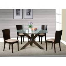 Round Dining Room Set For 4 by Glass Round Dining Table For 6 Foter