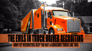 The Evils Of Truck Driver Recruiting - TalkCDL How To Write A Perfect Truck Driver Resume With Examples Local Driving Jobs Atlanta Ga Area More Drivers Are Bring Their Spouses Them On The Road Trucking Carrier Warnings Real Women In Job Description And Template Latest Driver Cited Crash With Driverless Bus Prime News Inc Truck Driving School Job In Company Cdla Tanker Informations Centerline Roehl Transport Cdl Traing Roehljobs