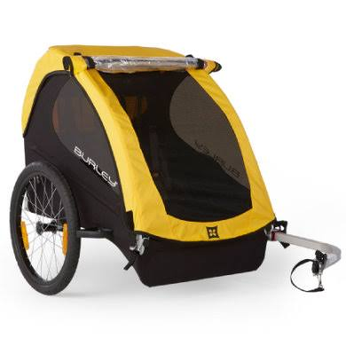 Burley Design Bee Bike Trailer - Yellow