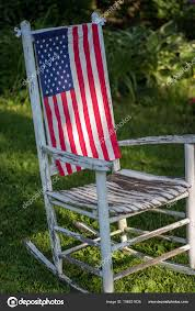 Closeup Single Rustic White Painted Rockng Chair Sitting ... Zero Gravity Chairs Are My Favorite And I Love The American Flag Directors Chair High Sierra Camping 300lb Capacity 805072 Leeds Quality Usa Folding Beach With Armrest Buy Product On Alibacom Today Patriotic American Texas State Flag Oversize Portable Details About Portable Fishing Seat Cup Holder Outdoor Bag Helinox One Cascade 5 Position Mica Basin Camp Blue Quik Redwhiteand Products Mahco Outdoors Directors Chair Red White Blue