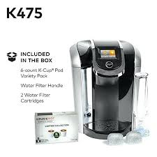 Water Under Pressure Keurig Single Serve Programmable K Cup Pod Coffee Maker With Oz Brew Size 20 Needle Maintenance