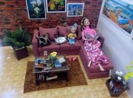 Barbie Living Room Furniture Set by Barbie Sofa Set 2 U2013 Barbie Livingroom Sabhrina Collection