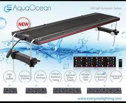 eclairage led pour aquarium eau de mer recifal new re led evergrow 2016 l éclairage