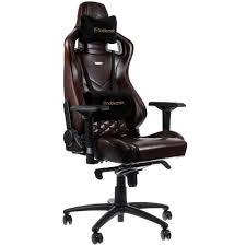 Noblechairs EPIC Series Real Leather Gaming Chair - Brown/Black Xrocker Pro 41 Pedestal Gaming Chair The Gasmen Amazoncom Mykas Ergonomic Leather Executive Office High Stonemount Chocolate Lounge Seating Brown Green Soul Ontario Highback Ergonomics Gr8 Omega Gaming Racing Chair In Cr0 Croydon For 100 Sale Levl Alpha M Series Review Ground X Rocker 21 Bluetooth Distressed Viscologic Starmore Back Home Desk Swivel Black Goplus Pu Mid Computer Akracing Rush Red Zen Lounge_shop