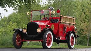 100 Ford Fire Truck 1919 Model TT S22 Monterey 2016