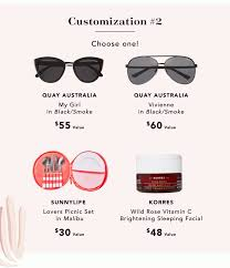 FabFitFun Spring 2019 FULL Spoilers + $10 Off Coupon Code ... Magnetic Sunglasses Goldie Blaze Top Australian Coupons Deals Promotion Codes October 2019 Promo Code Quay Australia X Jlo Get Right 54mm Flat Shield Marc Jacobs 317 Aviator Apollo Round Spring Fabfitfun Box Worth It Review Plus Coupon On The Prowl Oversized Mirrored Square Fab Fit Fun Spring Subscription Box Spoiler 2 Coupon Quayxjaclyn Very Busy French Kiss Iridescent Swimwear Boutique